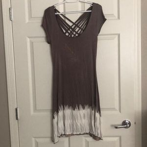 Tie dye beach cover-up /dress